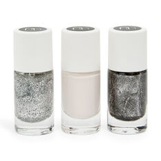 Nailmatic Nail Polish Set in color Black/Pink/Silver