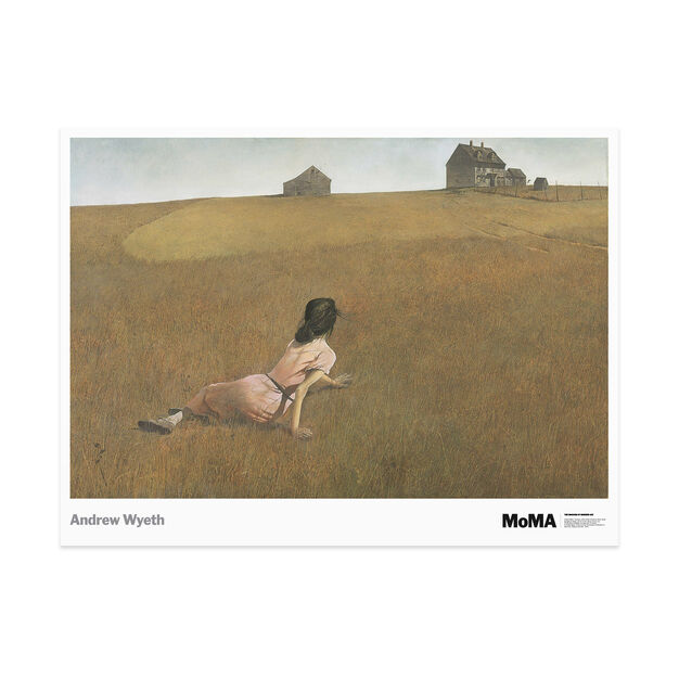 Wyeth: Christina's World  Poster in color