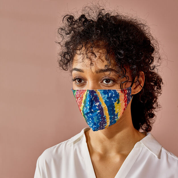 MoMA Artist Masks in color Woodsey Thomas