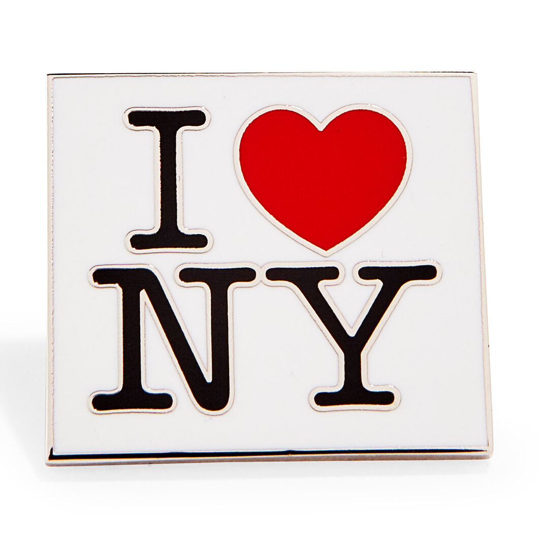 Milton Glaser: I Love New York Enamel Pin in color