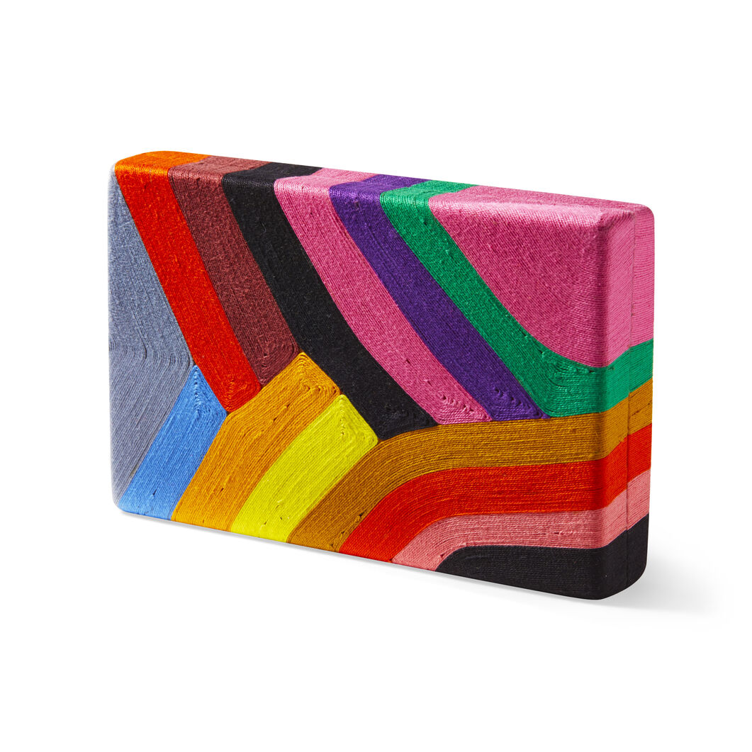 Rainbow Clutch in color