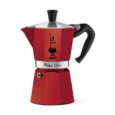 Moka Express Red in color Red