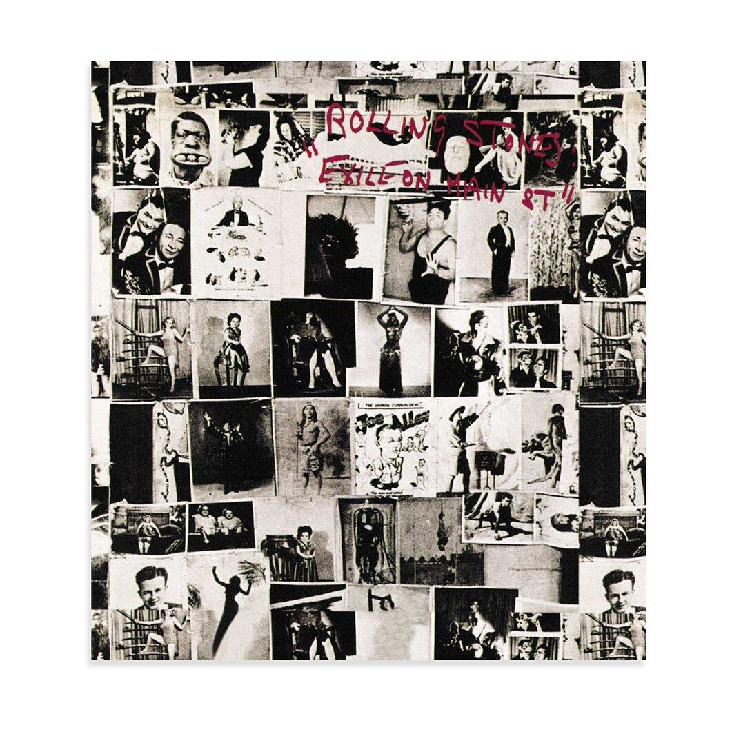 The Rolling Stones: Exile on Main Street Vinyl Record in color