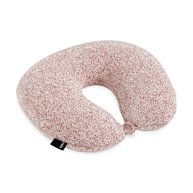 HAY Sleep Well Travel Pillow - Red in color Red