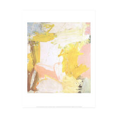 Willem de Kooning: Rosy-Fingered Dawn Poster in color