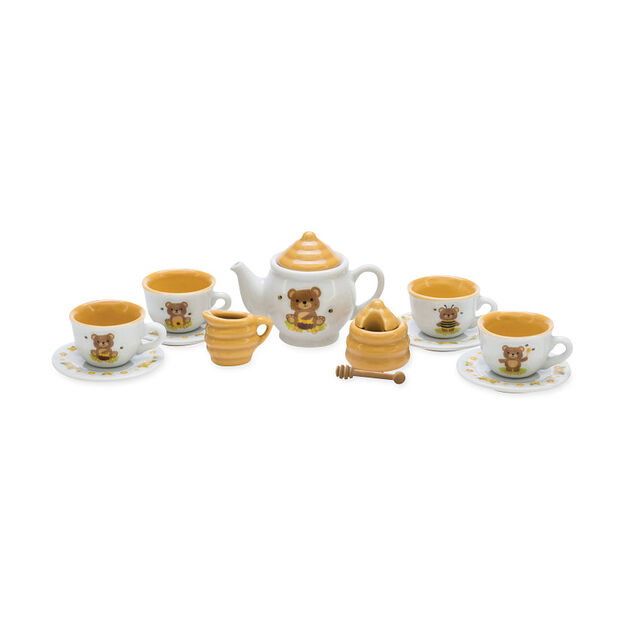 Honey Bear Porcelain Tea Set in color