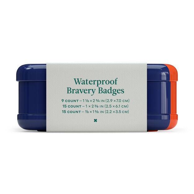 Waterproof Bravery Badges Bandages in color
