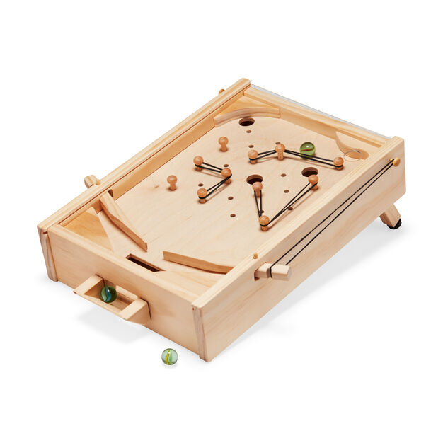 diy wooden pinball machine moma design store. Black Bedroom Furniture Sets. Home Design Ideas