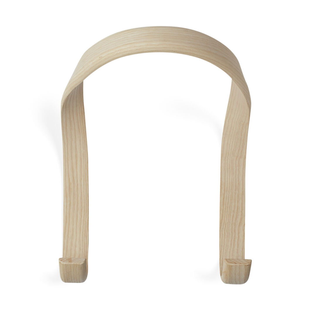 Hay U-Shape Hook Natural Ash in color Natural Ash