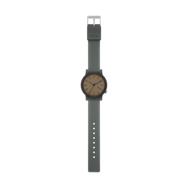 Mono Color Watch in color Charcoal