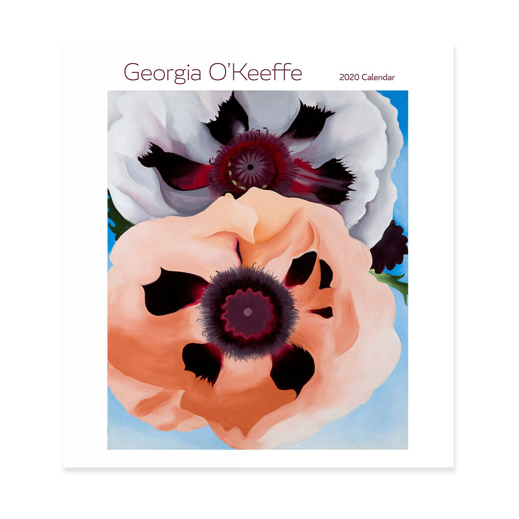 2020 Georgia O'Keeffe Wall Calendar in color