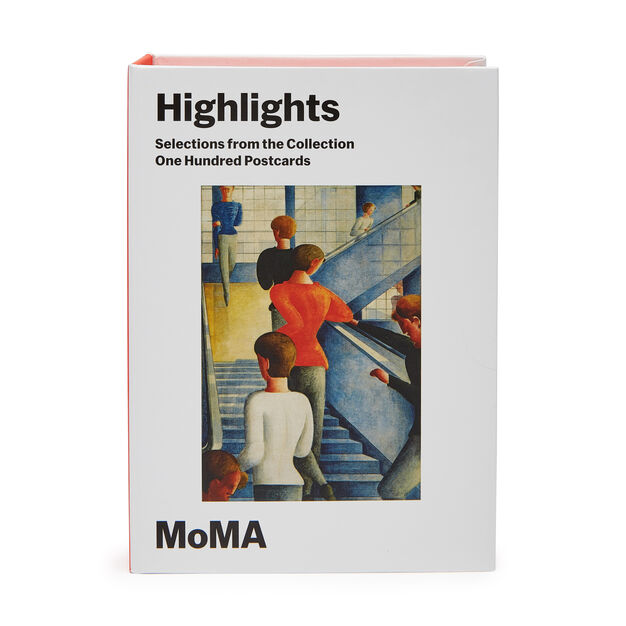 MoMA Highlights Postcard Set in color