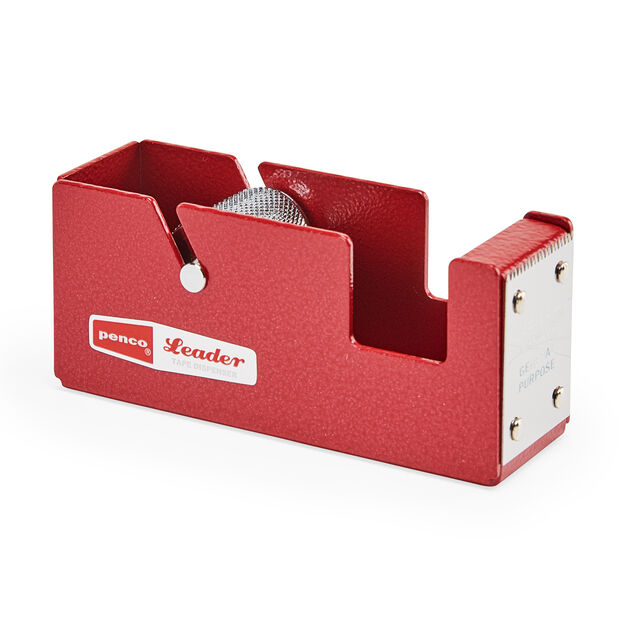 Hightide Small Steel Tape Dispenser in color Red