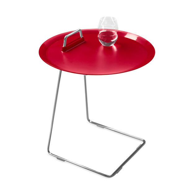 Porter Tray Table Red in color Red