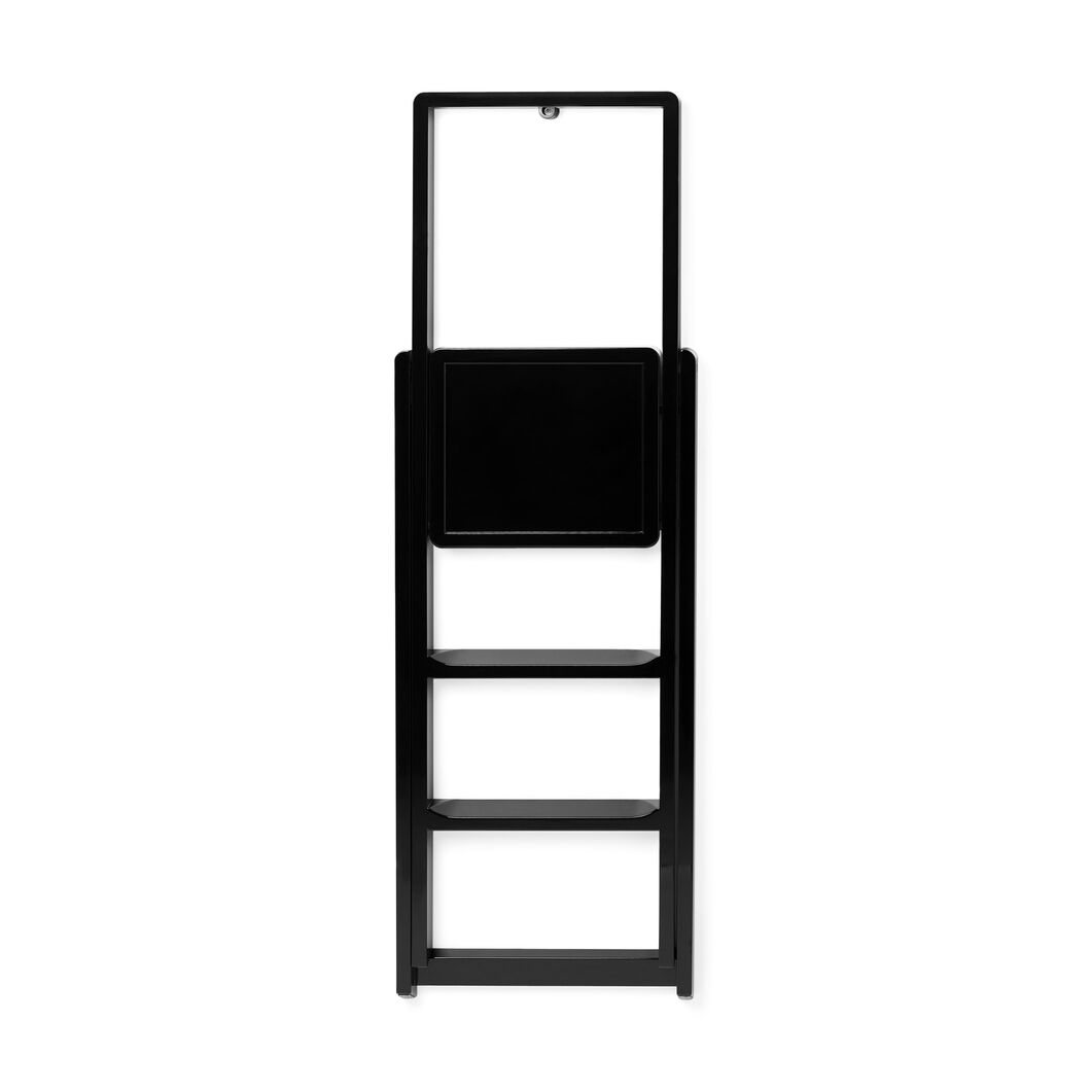 Step Ladder in color Black