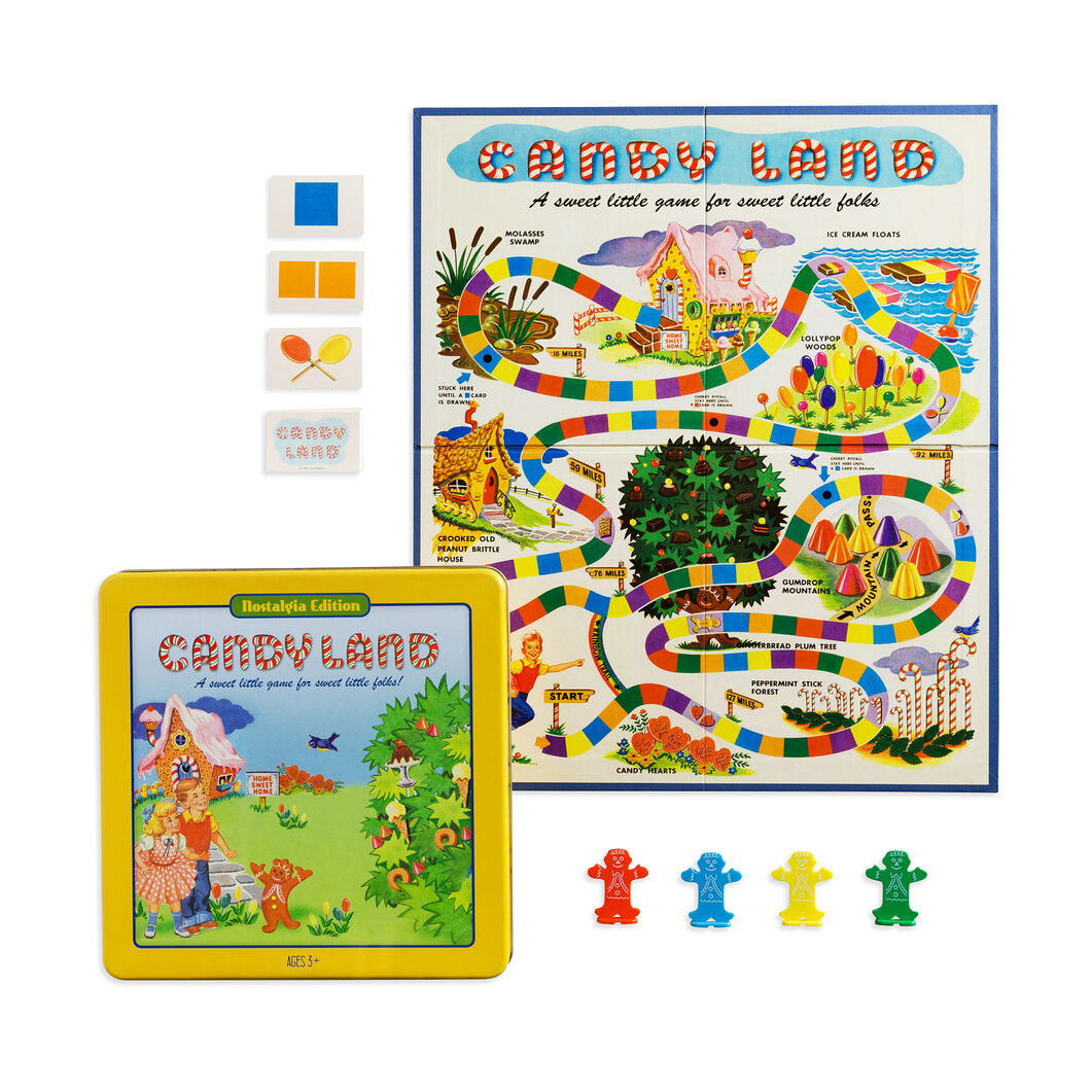 Candy Land Tin - Nostalgia Edition in color