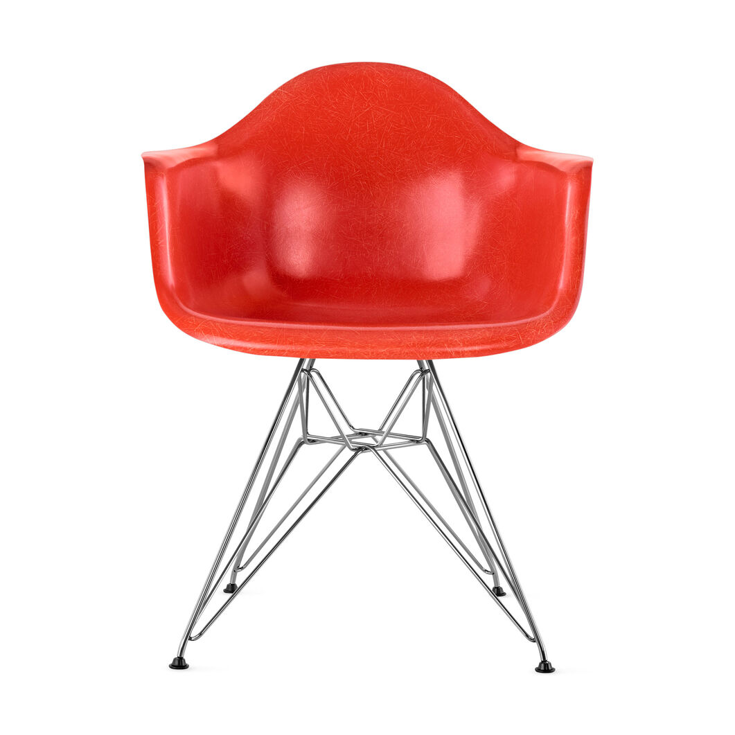 Eames© DFAR Armchair from Herman Miller© in color Red
