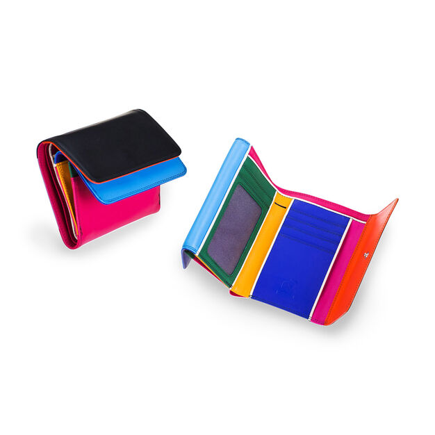 Burano Double Flap Wallet in color