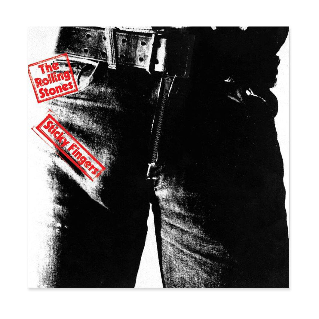 The Rolling Stones: Sticky Fingers Vinyl Record in color