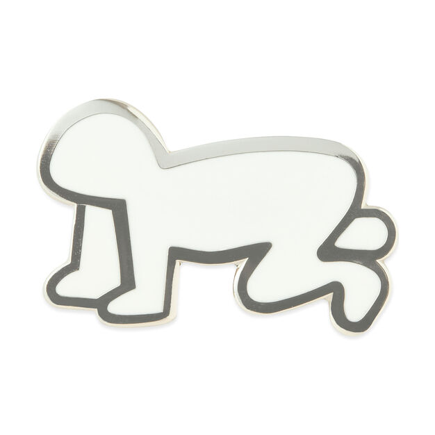 UNIQLO Keith Haring Crawling Baby Pin in color