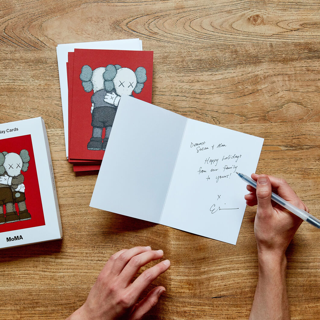 KAWS Holiday Cards (Box of 12) in color