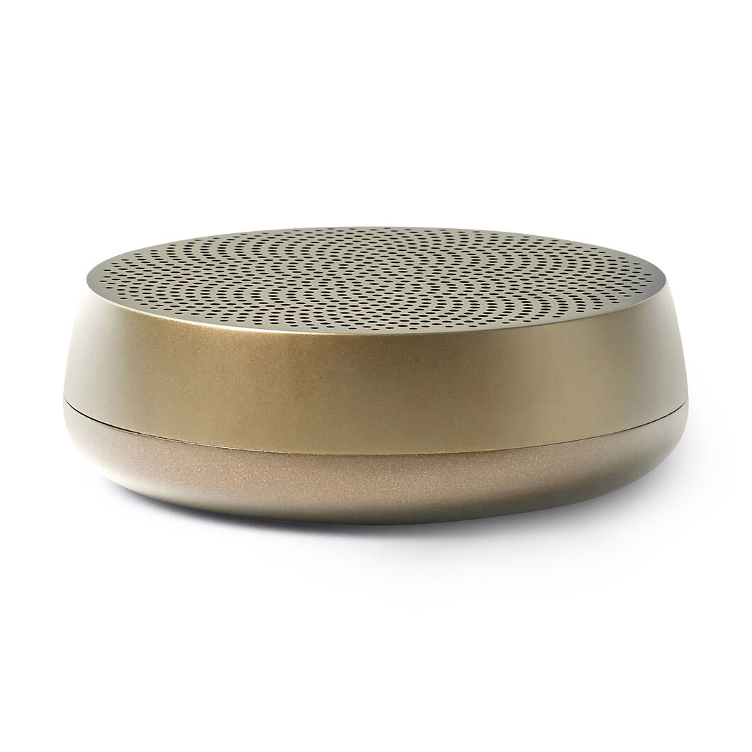 Lexon Mino L Pairable Speaker in color Gold