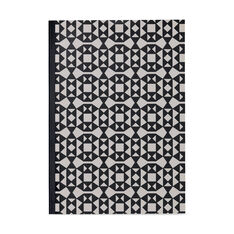 Alexander Girard Black Facets Notebook in color Black
