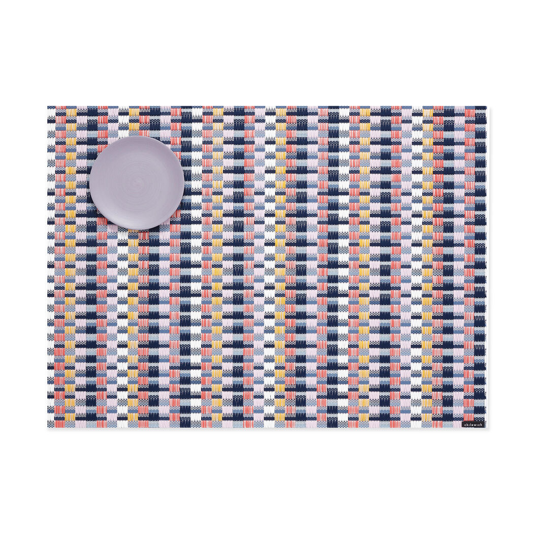 Chilewich Heddle Placemat in color Multicolor