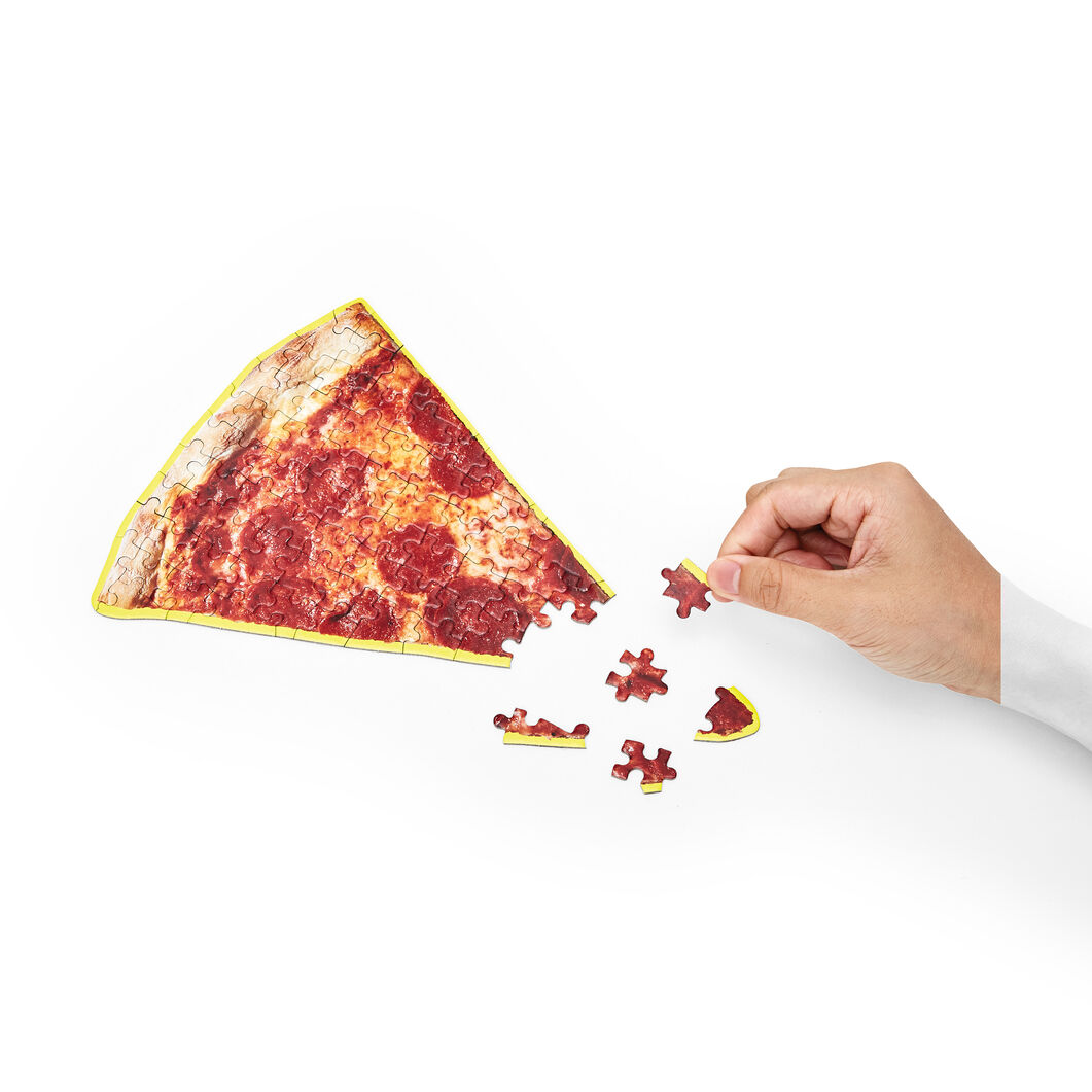 Little Things Puzzle Food Series in color Pizza