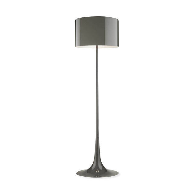 Spun Floor Lamp in color Mud