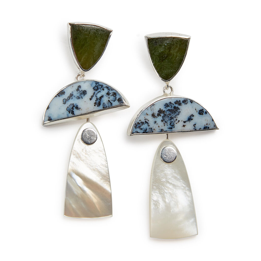 Octave Trio Drop Earrings in color