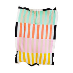 Dusen Dusen Stripe Throw in color