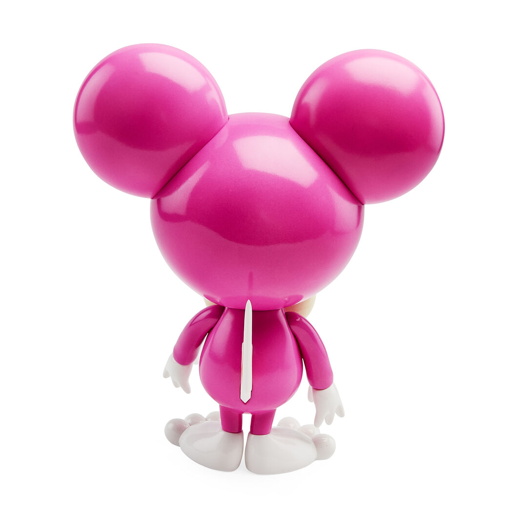 Murakami DOB-kun Figure in color Fuchsia