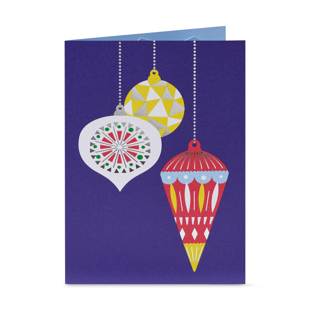 Holiday Ornaments Holiday Cards - Set of 8 in color