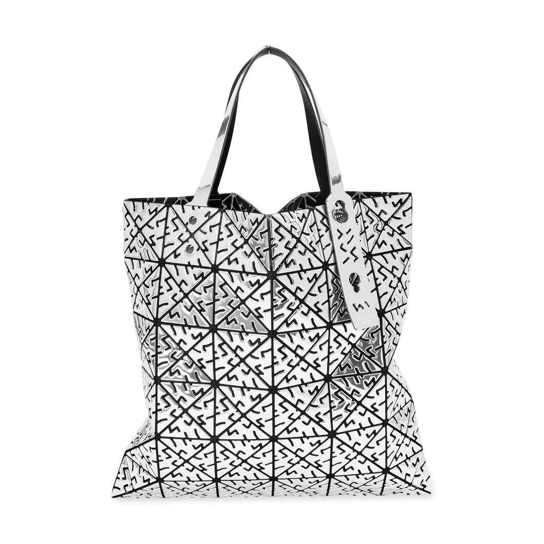 BAO BAO ISSEY MIYAKE Platinum Lucent Bug Tote in color
