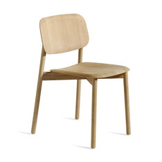Soft Edge Chair in color Oak/Oak