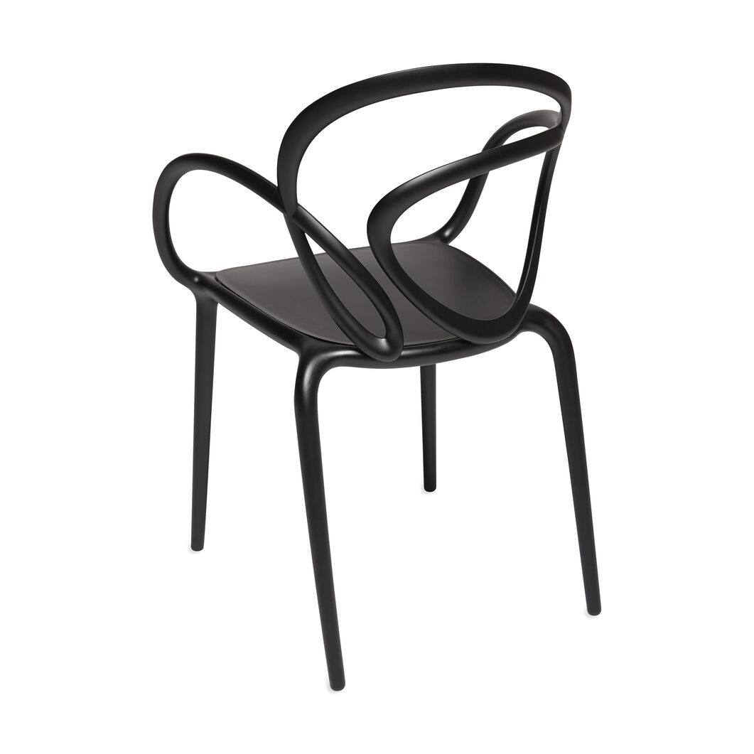 Loop Chair in color Black