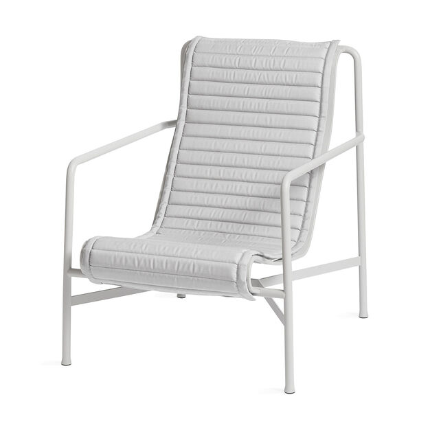 Hay Palissade Outdoor Lounge Chair High White Moma Design Store