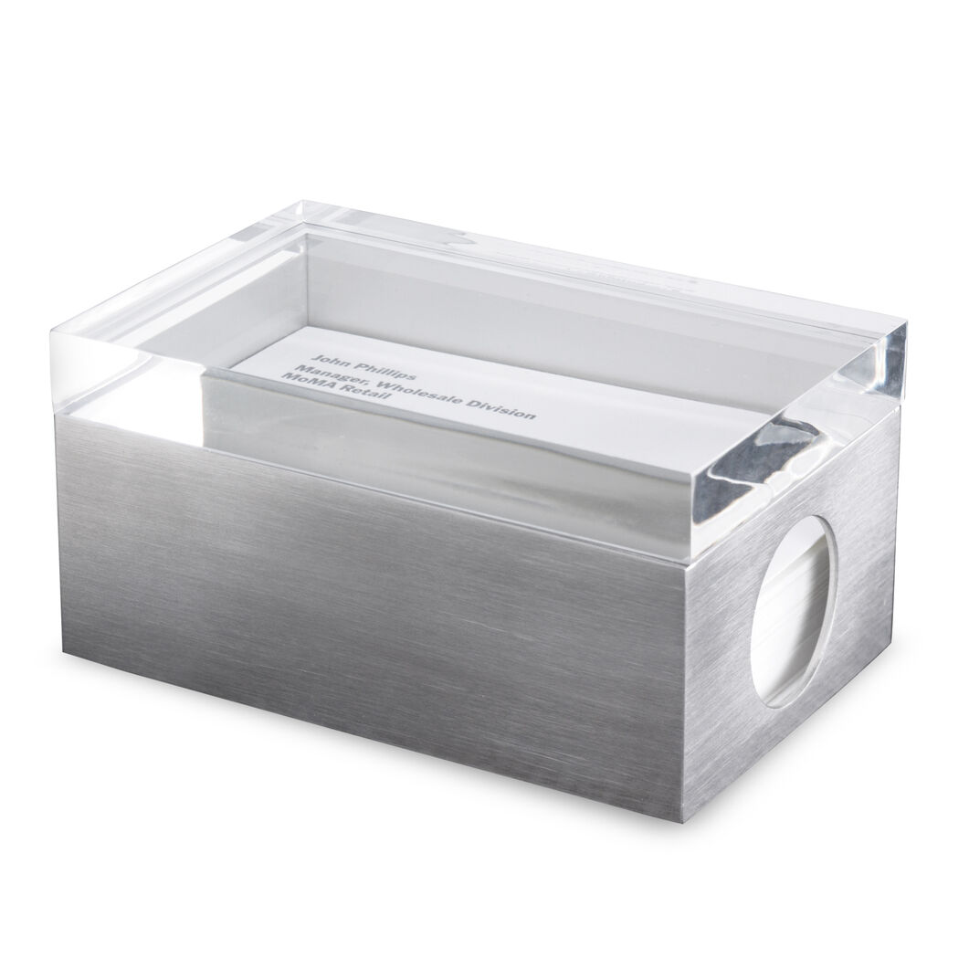 Page 1 Business Card Box in color Transparent