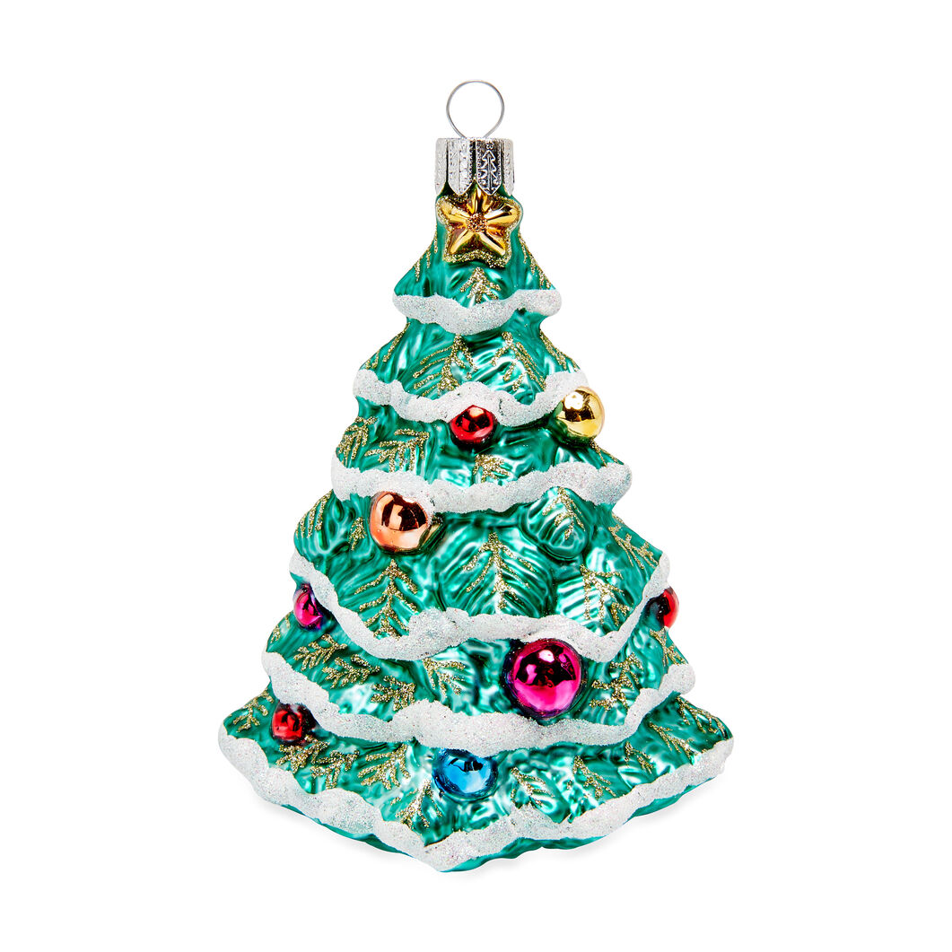 Christmas Tree Ornament in color