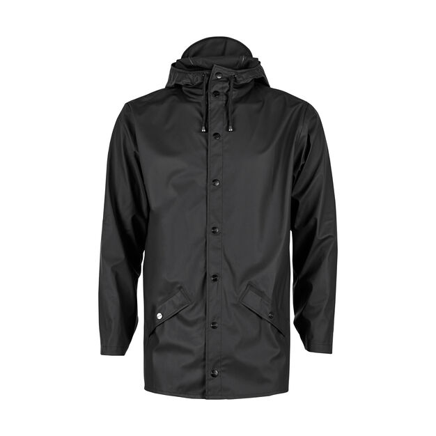 Rains Jacket in color Black