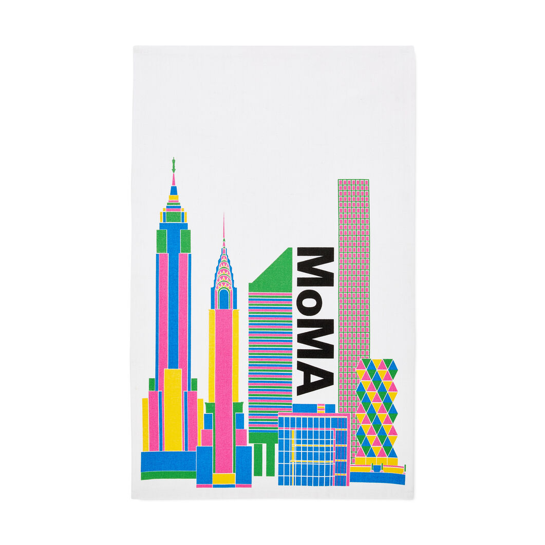 MoMA Skyline Tea Towel in color