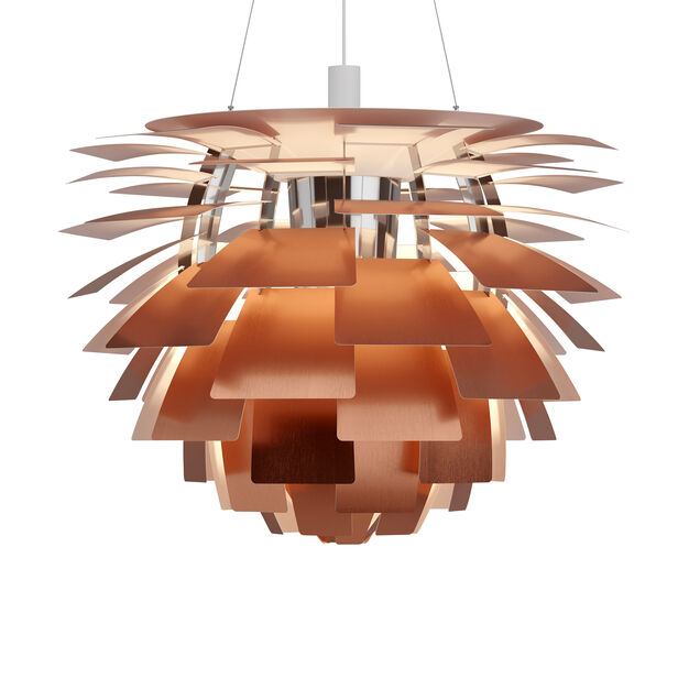 PH Artichoke Pendant Lamp in color Copper