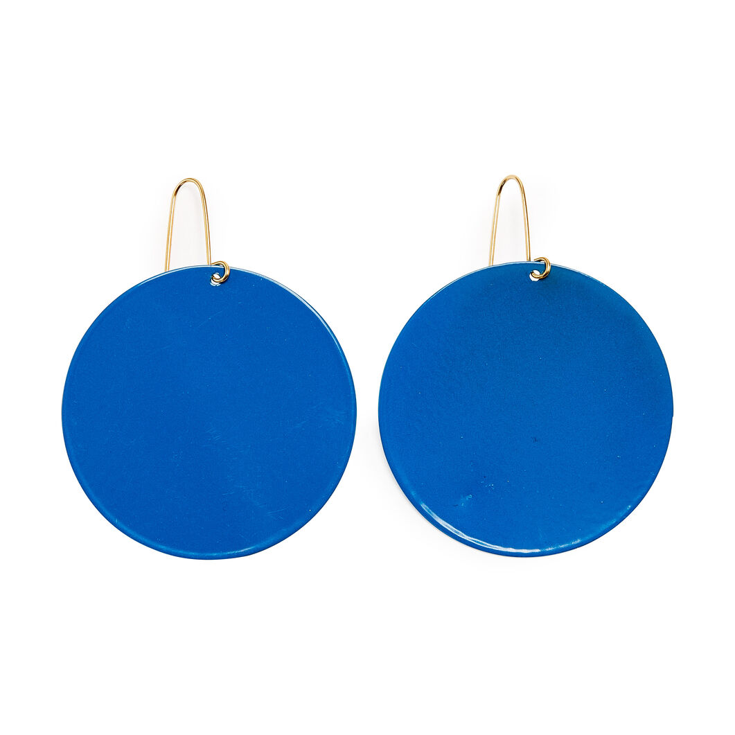 Sibilia Nature Earrings in color Blue