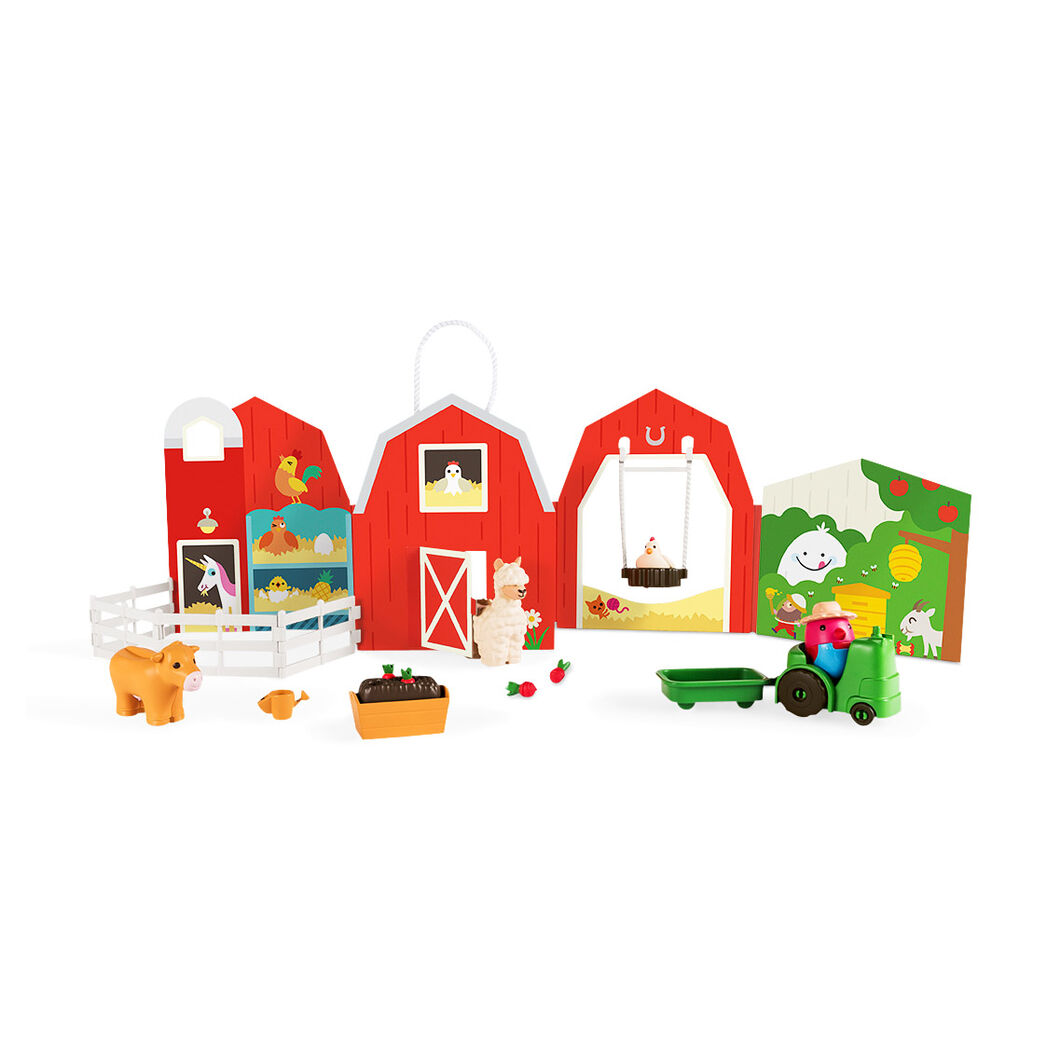 Robin's Farm Portable Playset in color