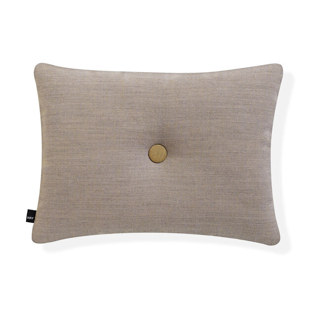 HAY Dot Cushion - Golden Beige Surface in color Brown