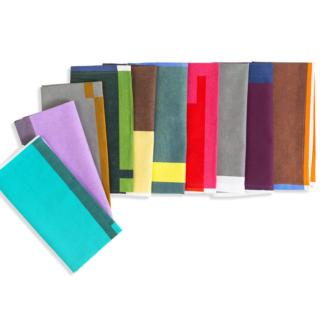 Everyday Cloth Napkins - Set of 10 in color