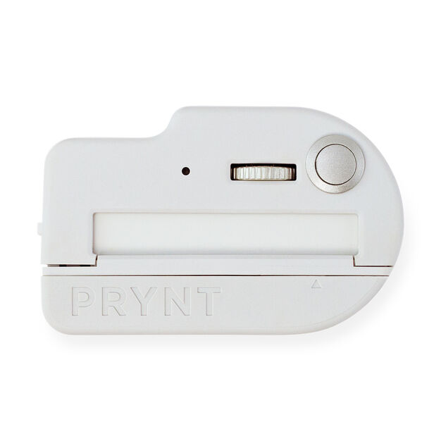 Prynt Pocket iPhone Printer Set in color Light Gray