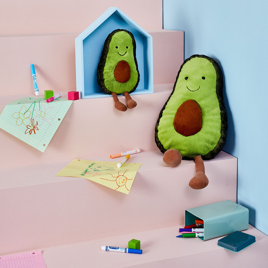 Amuseable Plush Pals in color Avocado