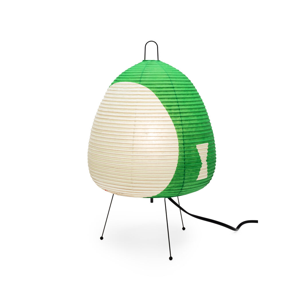 Akari Light Sculpture in color Green